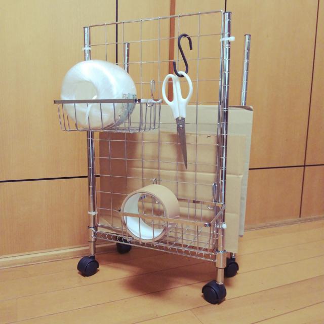 「組み立てるだけ!回収日までノンストレス◎段ボールストッカー」 by hamukoさん