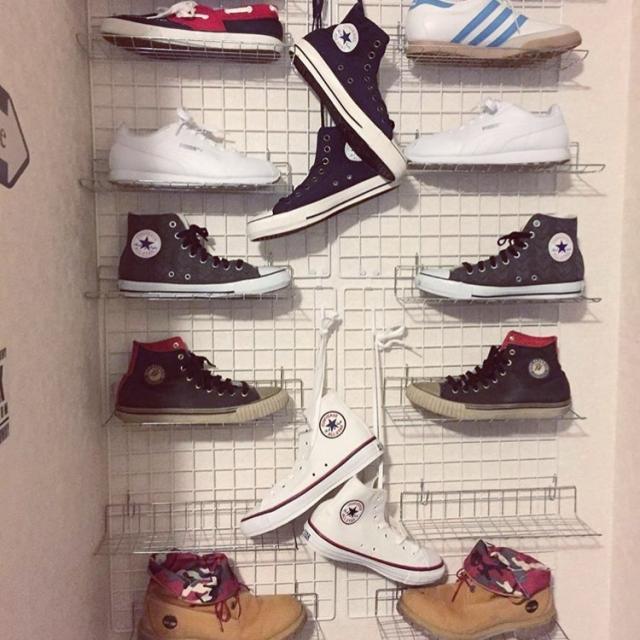 美しく、取り出しやすい!靴やスニーカーの収納ワザ