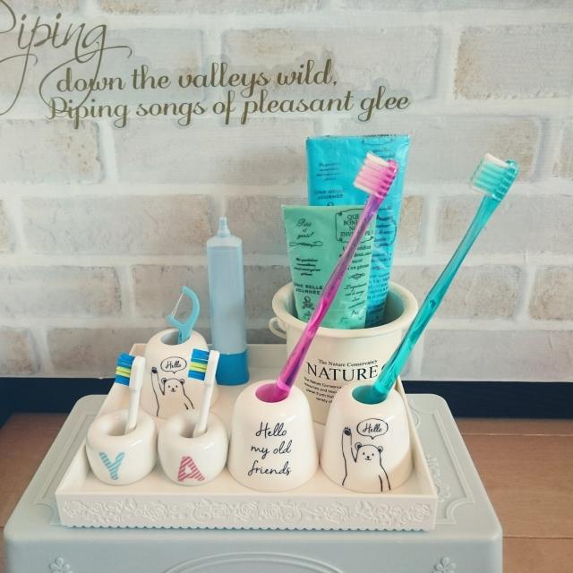 お気に入りを見つけよう♡ダイソーの歯ブラシスタンド