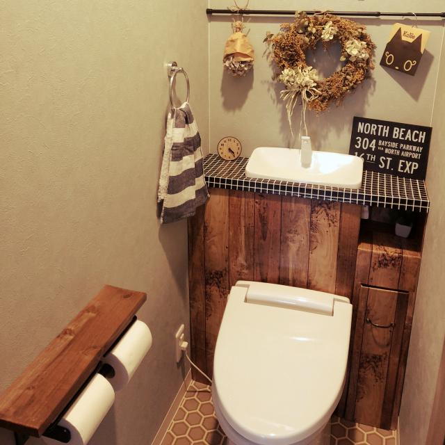 タンクレス風DIYからはじめる!トイレの快適な空間づくり