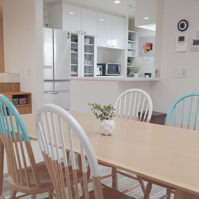 「粋なオープン&クローズのバランス、明るい半個室キッチン」 by Jinaさん