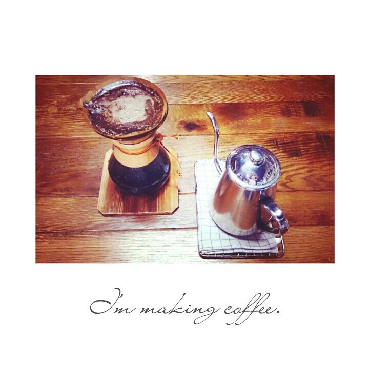 TeaLyricさんのコーヒーメーカー