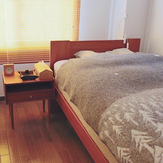 心も身体もリラックス♡ゆったり休める北欧風の寝室