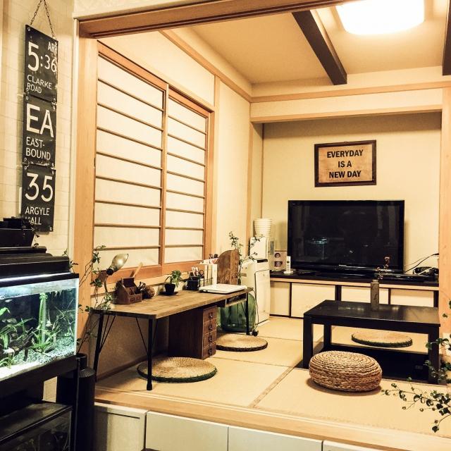 和室にも学習スペース