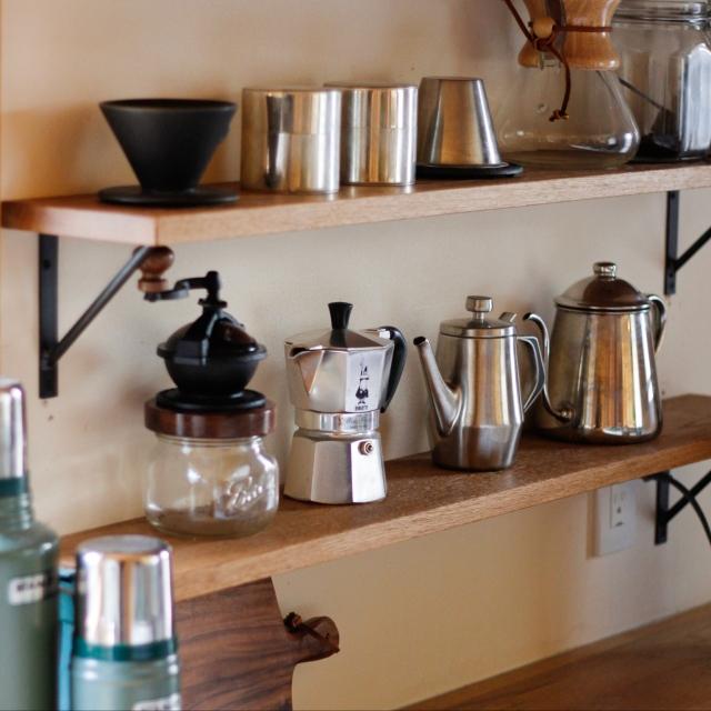 幸せはこの一杯から♡コーヒーグッズが活きる空間を作ろう