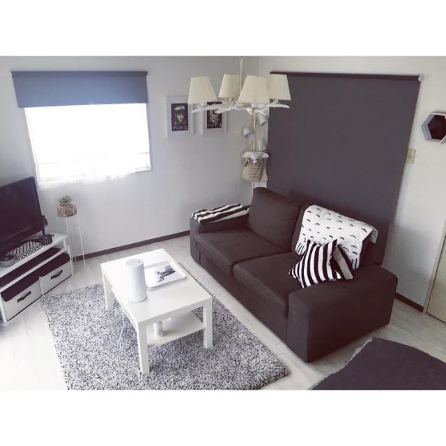 自分で作ってうれしい♡ひとり暮らしのモノトーン部屋10選