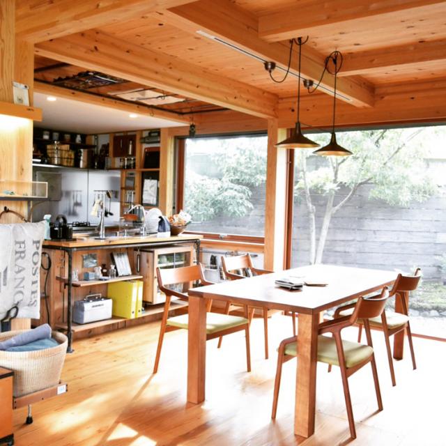 「DIYで進化を続ける、無造作を美しく見せるキッチン」 by plus710さん