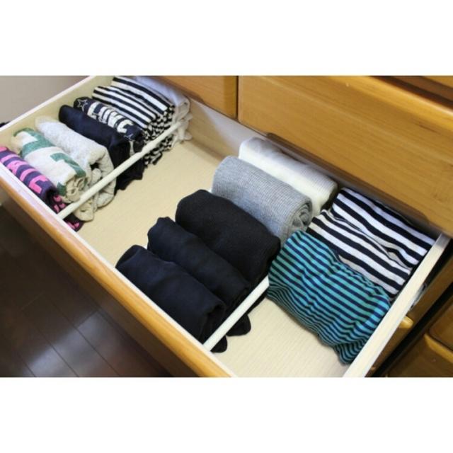 たたむ・見せるで楽しく整理整頓♪Tシャツ収納アイデア