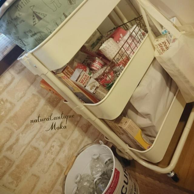 収納力をフル活用でキッチンすっきり