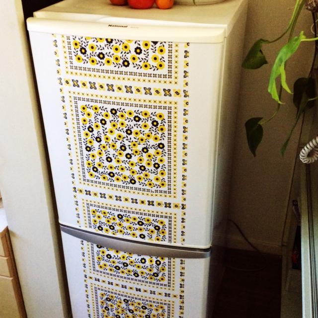 北欧調の冷蔵庫に変身