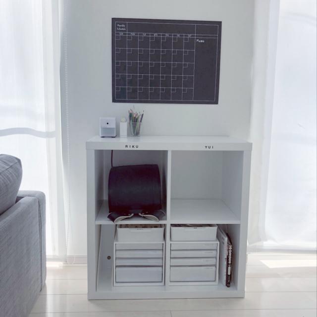 シンプルなお部屋をキープ!ランドセルや勉強道具の収納法