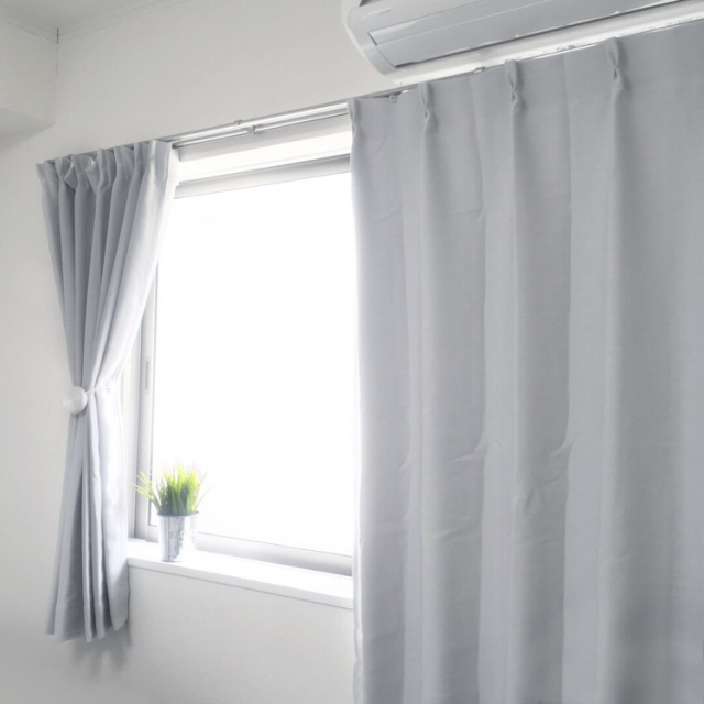 ニトリのカーテンでお部屋を演出♪窓辺の模様替えにも