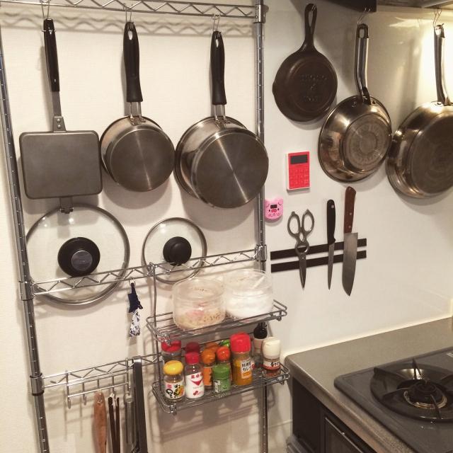 みんなどうしてる?キッチンでかさ張るお鍋の収納方法