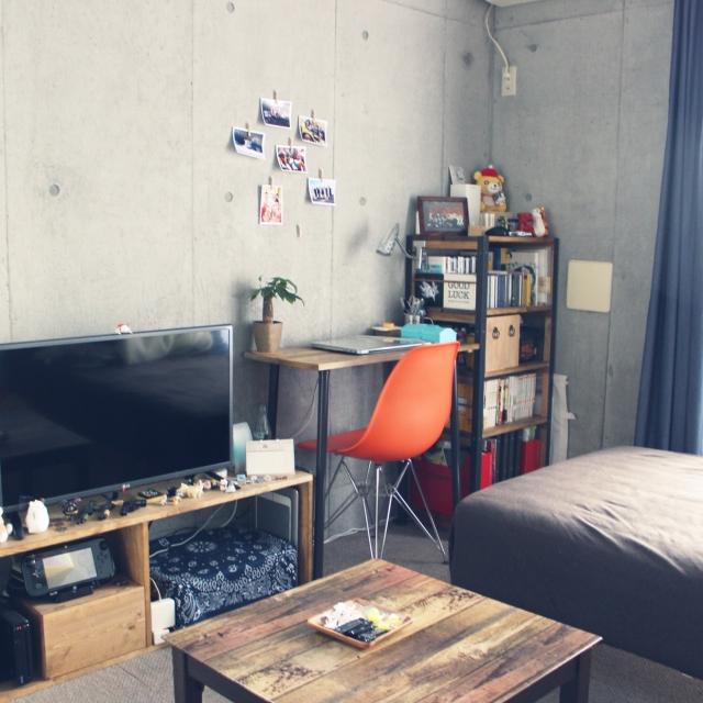 「ほぼDIY家具◎自分サイズな部屋作りでちょうどいい暮らし」 by kozaruさん[連載:ワンルーム1Kの暮らし]