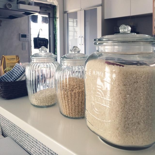 毎日使うお米の保存もばっちり