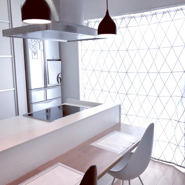 デザイン性の高さが魅力☆IKEAのシャワーカーテン活用法
