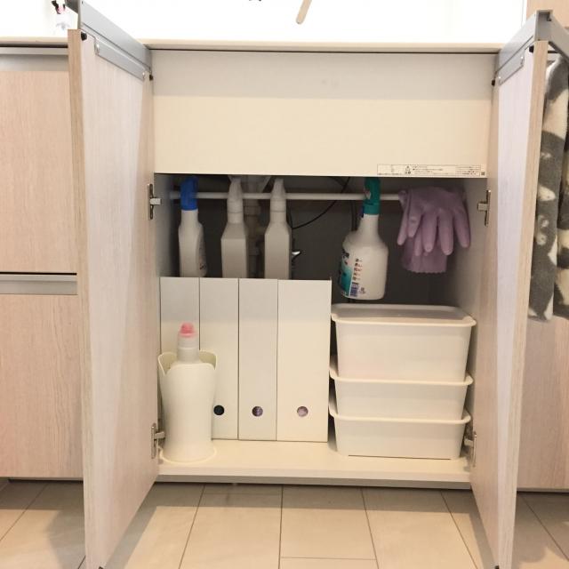 使いやすさ&スッキリを両立したい!おうちの洗剤収納