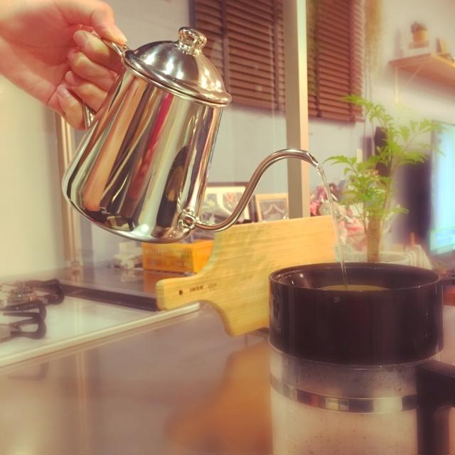 お家でリラックス☆ハンドドリップコーヒーを楽しむ暮らし