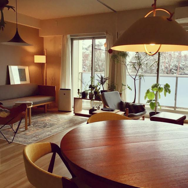 「シンプルを情趣深く。デンマーク家具とつくる、癒しの空間」 by ko_yo_さん