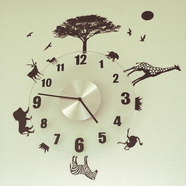 世界に1つだけ!リビングの壁掛け時計のアレンジ実例10選
