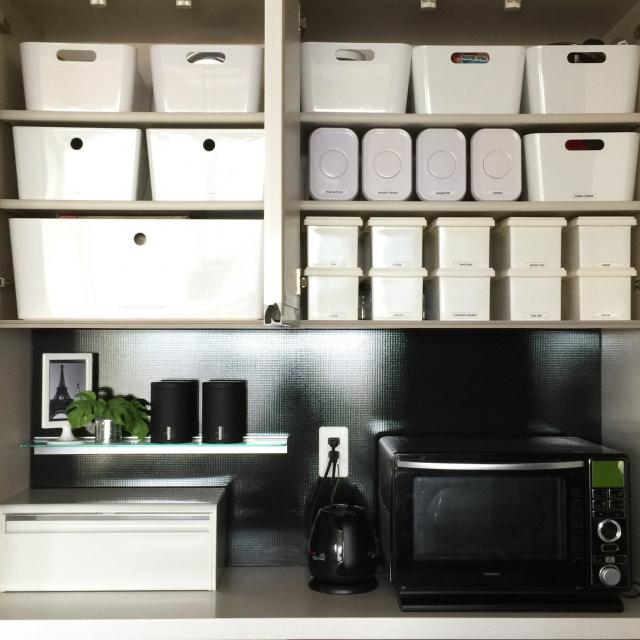IKEA・無印・ニトリ商品でキッチン収納アイディア