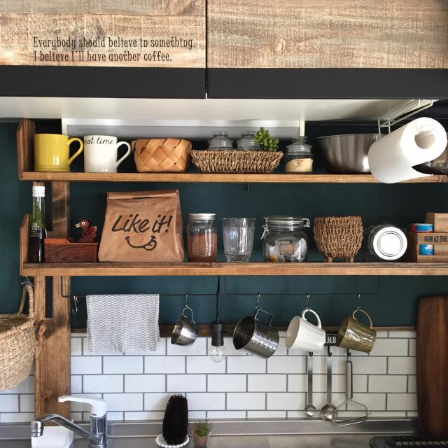 キッチンペーパーはどこに置く?とっておきの収納実例集