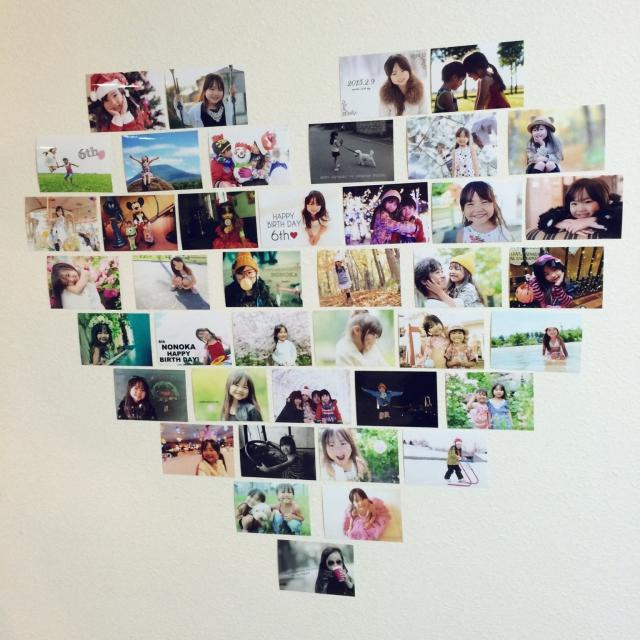 ギャラリーのように家族写真を飾ろう♡