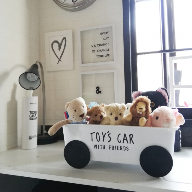 「塗って貼るだけ5分◎絵になるTOY'S CAR♪」 by yuuさん