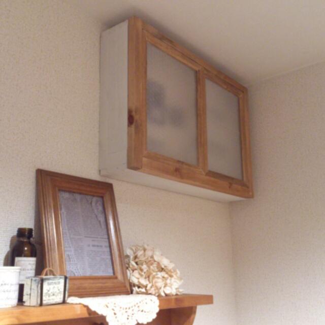 窓枠風のナチュラルなBOX