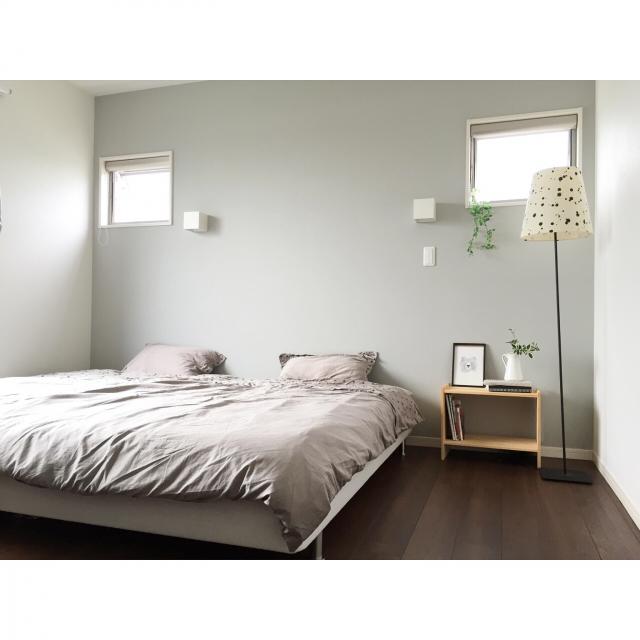 ものを置かない美しさがここにある♡憧れのミニマルな寝室
