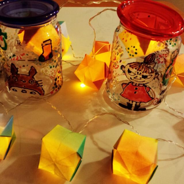 お部屋のインテリアに折り紙をプラスして、可愛く演出しませんか?