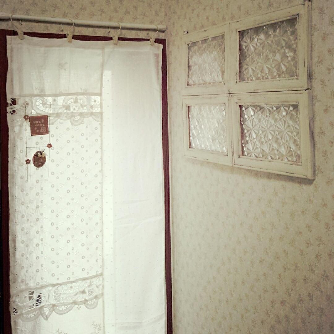 mieさんの手作りカーテン