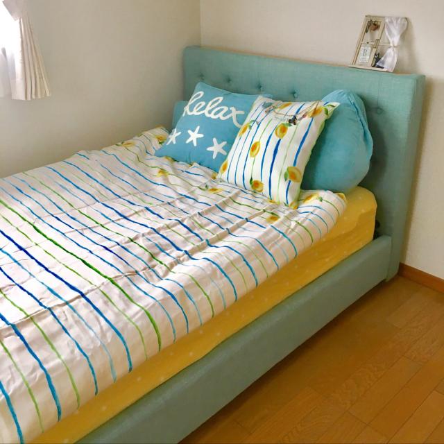 ニトリのアイテムで作る♡寝室のカラー別コーディネート集