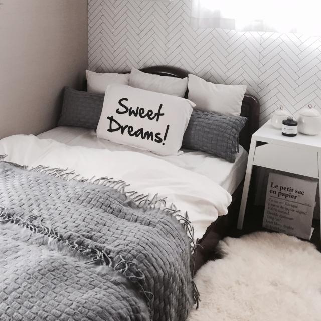 無印良品やニトリでつくる、心地よいベッドルーム