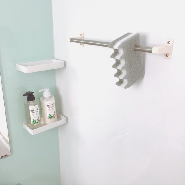 掃除に収納に便利!バスルームで活躍する100均アイテム