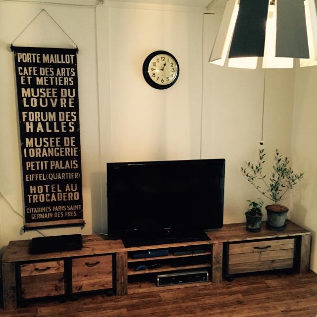 テレビボードは自分で作る!真似したくなるスタイル別DIY