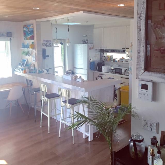 「海辺の暮らし。家族想いのサーファーズハウス」憧れのキッチン vol.121 R_u_m_iiさん