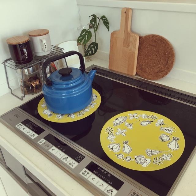 家事楽キッチンを目指して♪コンロ周りの汚れを防ぐ方法