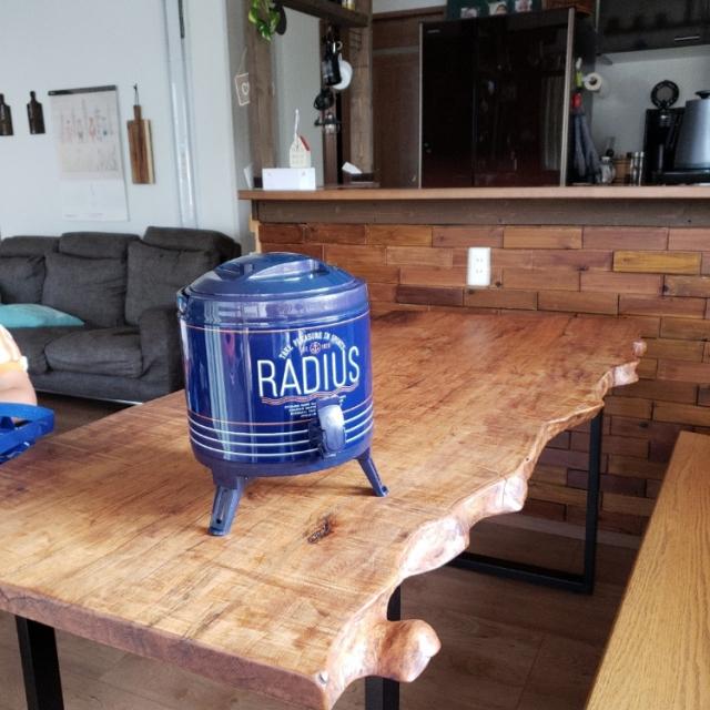 自然派さんのDIY♡一枚板テーブルは愛着がわく一点物
