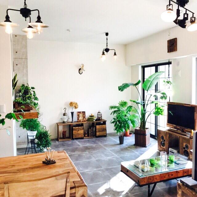 モダンで洗練された空間を☆ひと味違うカフェ風インテリア