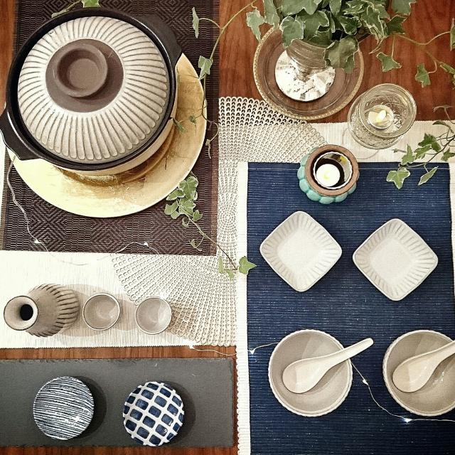 かなり使える、ニトリのテーブルウェア♡主役3アイテム&かんたん食器コーデで、毎日の食卓をハッピーに!