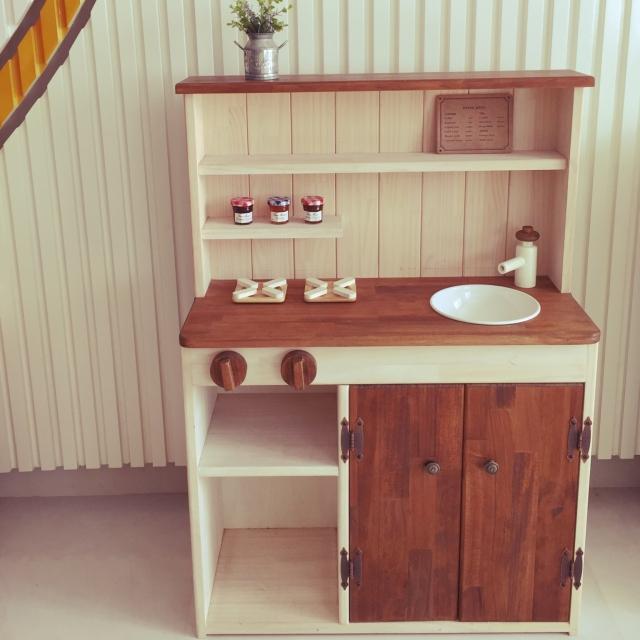 世界にひとつだけ!DIYで作る理想のおままごとキッチン