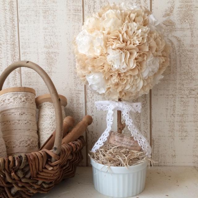 ほわほわのお花で飾り付け♡簡単使えるフラワーペーパー