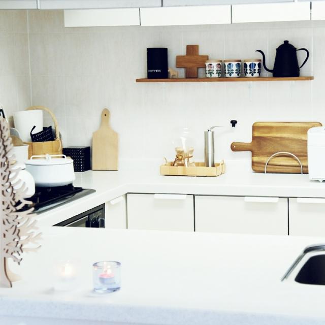 「愛着あるモノ、空間。自分の手で作り上げてきた北欧スタイル」憧れのキッチン vol.128 aurinkoさん