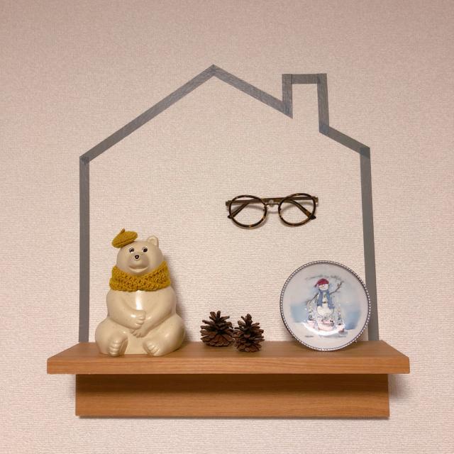 壁面ディスプレイの味方♡無印良品の壁に付けられる家具