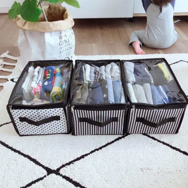 衣類をすっきり整理!使い勝手のいい収納ケース&ボックス