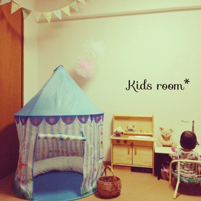 子供部屋に