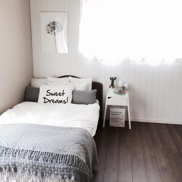 寝室で大活躍!IKEA商品でベッドサイドをコーディネート