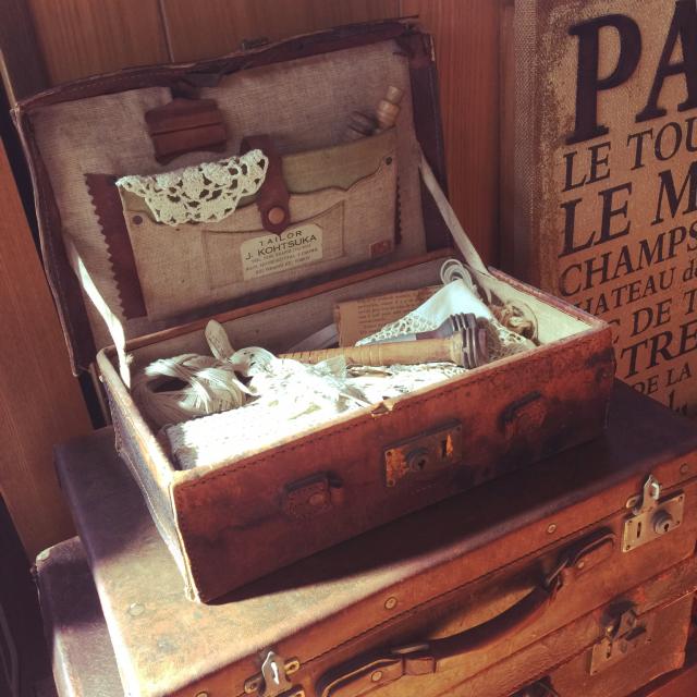 味わいある古いものに囲まれて♡古道具のある暮らし