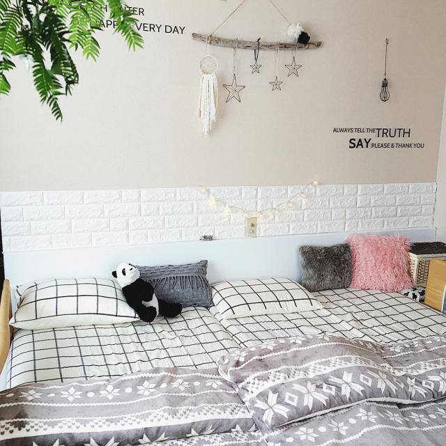 心地良い眠りを演出♪ニトリの寝具でベッドコーディネート